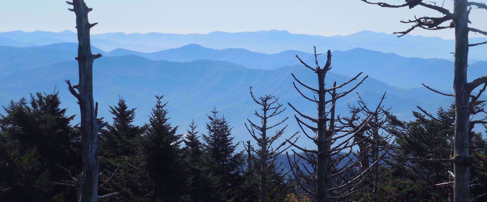 ridges of the great smoky mountains