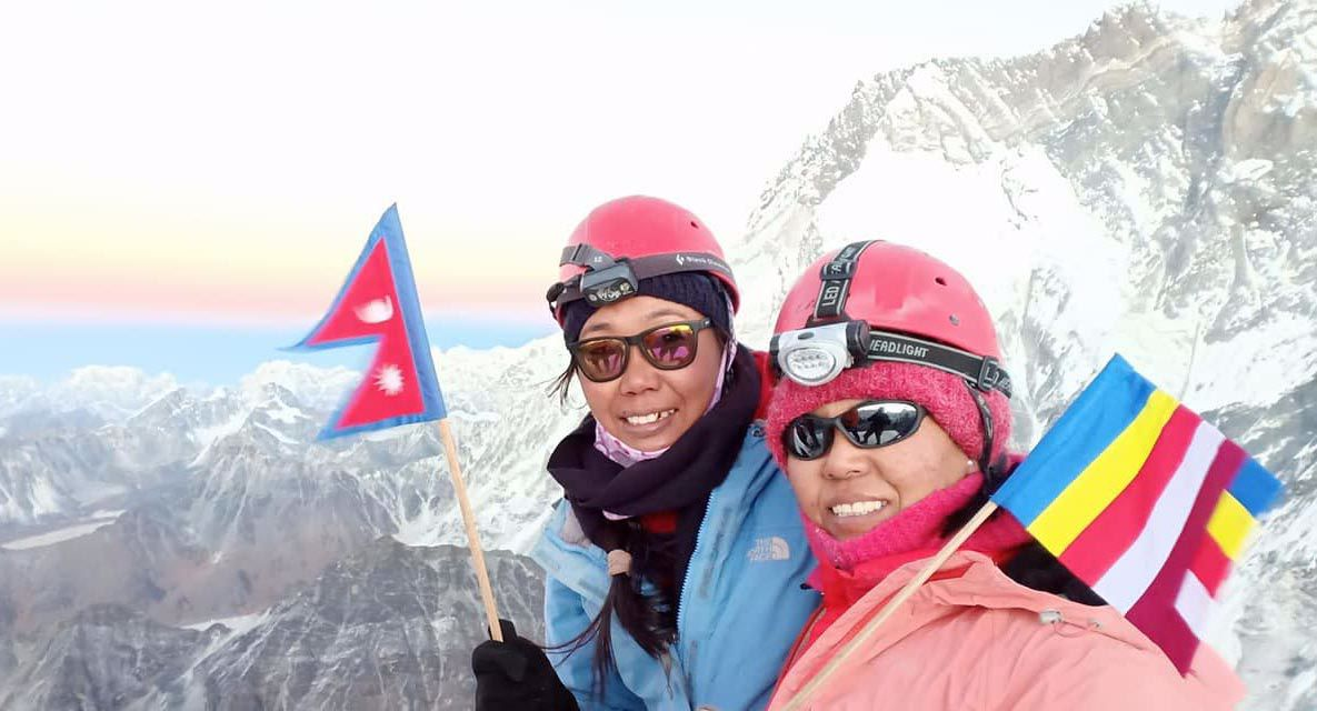Two Widows from Nepal Climbing Towards Equality in the Mountains