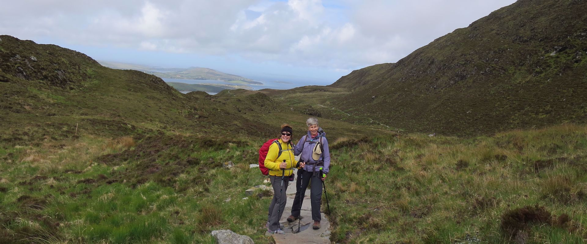 Women's hiking trip in Ireland