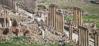 pillars and ruins in jerash