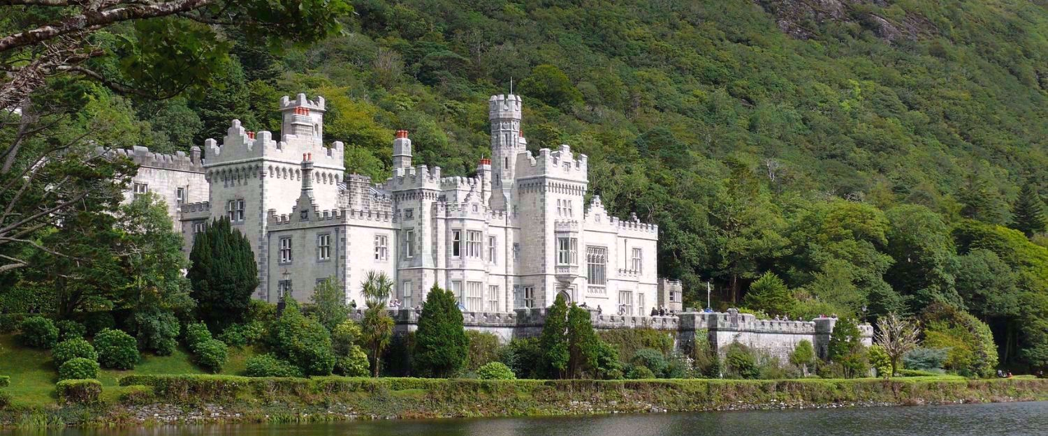 Kylemore Abbey in Connemara