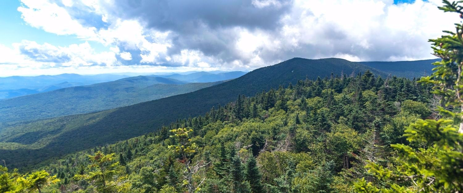 Appalachian Trail section backpack in Vermont