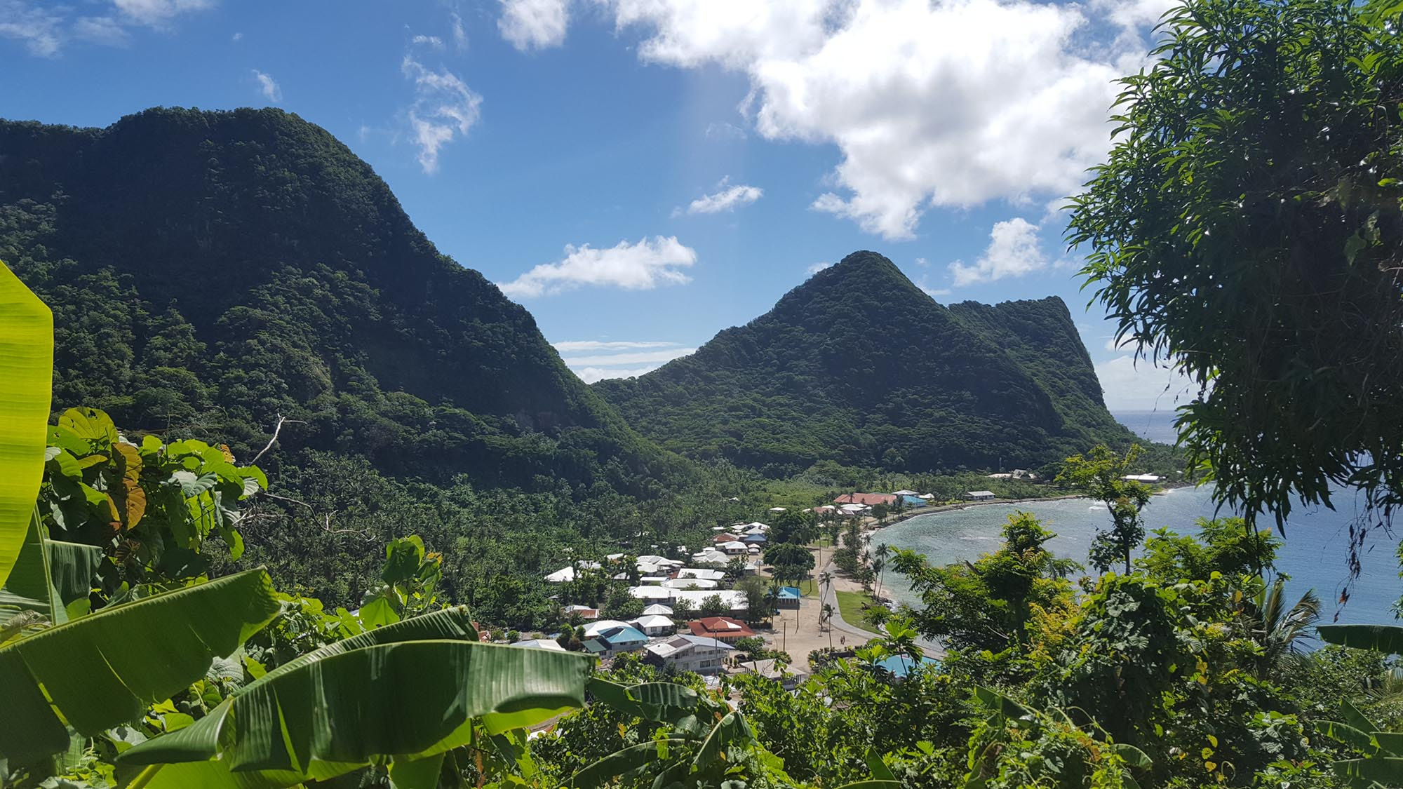 National Park of the American Samoa